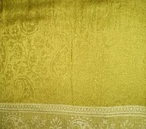 ContemporaryOlivePaisleyShawl