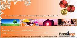 Shanti Yoga Gift Voucher