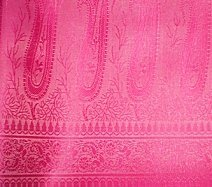 Pure Pink Art Silk Shawl