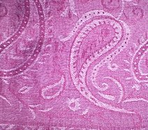 Purple Contemporary Paisley Shawl