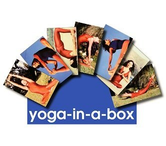Yoga posture cards