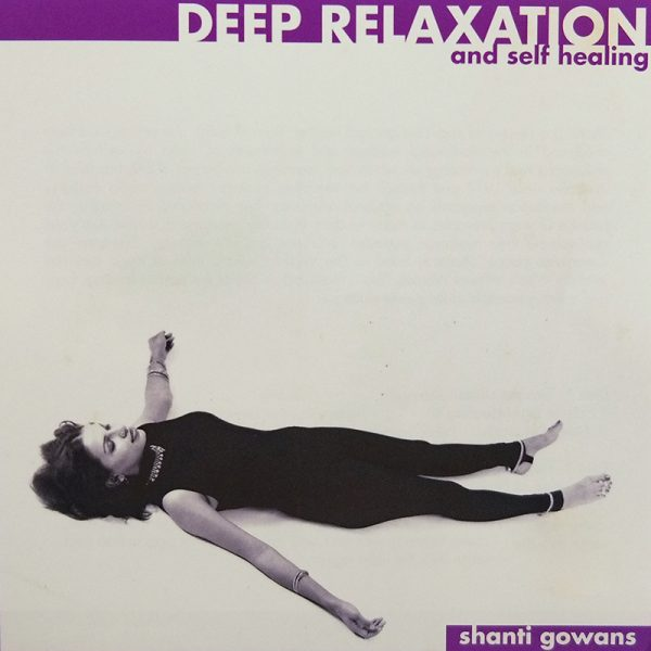 deep relaxation and self healing cd cover