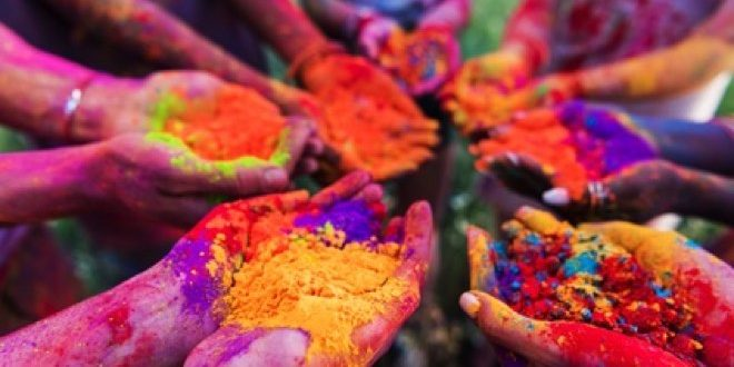 festival of colours - India tour