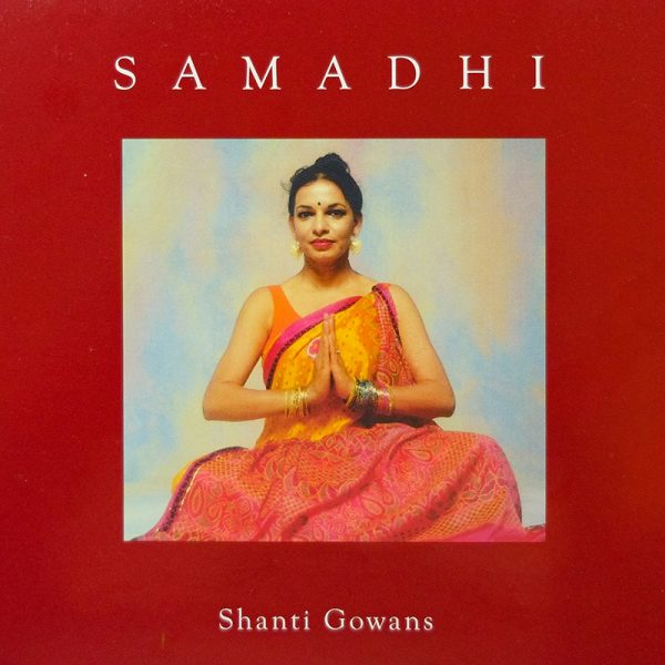 shanti yoga cd cover, samadhi deep relaxation